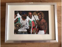 Hand Signed Floyd Mayweather Picture - AUTHENTIC COA