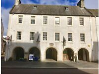 2 Bedroom flat unfurnished in Inverness city centre