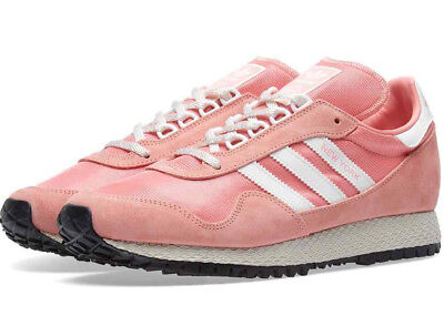 9BNIB ADIDAS NEW YORK tactile rose / vintage white / pink  UK 9.5 BY9341