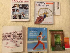 Pre health science textbooks