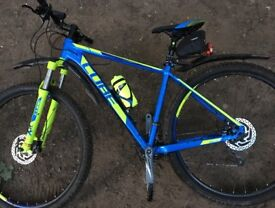 "Cube ANALOG '16 BLUE/KIWI 1 19"" / 29"" XCR mountain bike 29er"