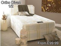 luxury High quality divan beds and mattress direct factory price to public