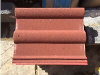8x New Redland 50 Double Roman Roof Tiles - Antique Red