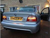 2001 BMW 525i E39 Msport