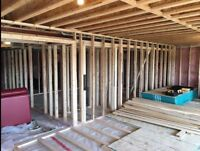 FRAMING and DRYWALL services