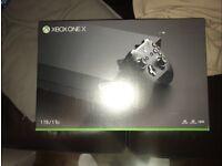 XBOX ONE X 1TB BRAND NEW & SEALED
