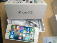 Apple iPhone 5s 16gb Silver Unlocked