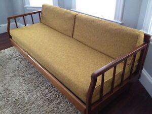 Vtg Danish Mid Century Daybed Trundle Sofa Bed Peter Hvidt