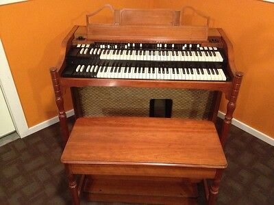 Hammond A143 B3 Organ Fully Serviced 1964 Cherrywood A100 A 100 C3 B2 Cv C2 Bv