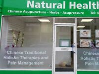 HEALING CENTRE. CHINESE MASSAGE. ACUPUNCTURE. HOLISTIC THERAPIES. MUTLEY PLAIN. PLYMOUTH