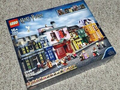 NEW IN BOX LEGO Harry Potter Diagon Alley 75978 Sealed, Ships via UPS FREE
