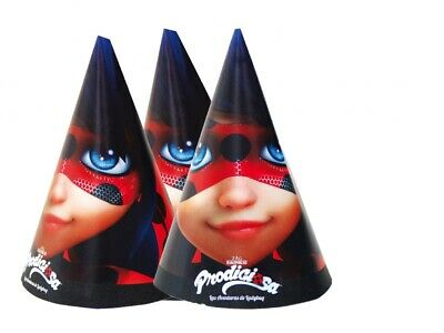 Ladybug Superheroes Girls Character Themed Children/Kids Party Cone -