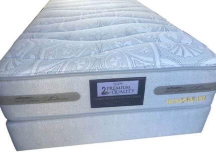 Sleepy Queen Size Bed Ensemble (mattress and base) Dundas Valley Parramatta Area Preview