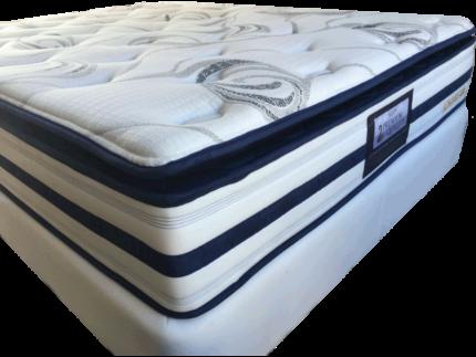 Series of Sleepy beds Ensemble ( base + pillow top mattress)