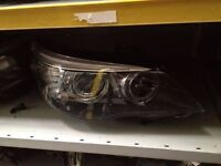 BMW E60 5 SERIES XENON HEADLIGHT dynamic adaptive passenger side BREAKING 1 3 5 6 7 SERIES