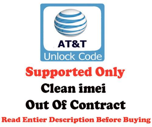 NETWORK UNLOCK CODE ATT LG G PAD V410 G3 VISTA 2 V10 H900 ONLY