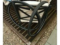 2 Schwalbe Big Apple bike tyres. As new with 3 inner tubes.
