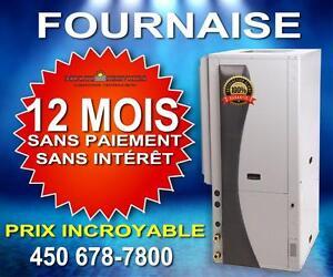 SPÉCIAL  FOURNAISE, THERMOPOMPE, CHAUFFAGE,  MEILLEUR PRIX GARANTIE! 450 678-7800 SUBVENTION!