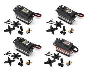 3x Align DS615 + 1x DS655 Coreless Digital & Rudder Servo HSD61501 HSD65501 4PCS