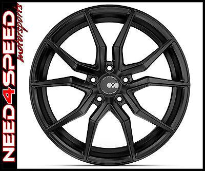 "22"" XO Luxury Verona Matte Black Concave Wheels for Range Rover Sport"