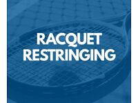 Professional Racquet Restringing - Tennis, Badminton & Squash