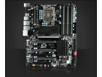 6 CORE 12 THREAD I7 980X - EVGA FTW 3 MOTHERBOARD PLUS OPTIONAL PARTS.