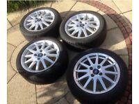 Ford Fiesta Mk6. Alloy wheels Zetec S full set. May Px. Ask