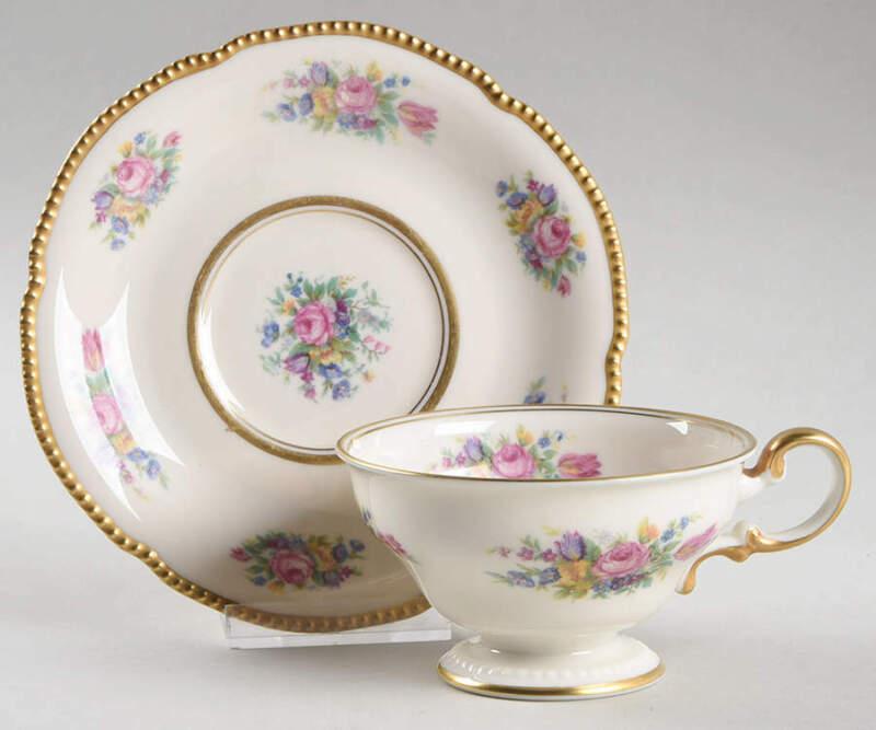 Castleton-Usa Castleton Rose Cup & Saucer 11924879