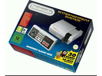 BRAND NEW unopened NINTENDO CLASSIC MINI