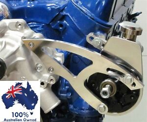 FORD FALCON MUSTANG WINDSOR POWER STEERING BRACKET KIT USE WITH SAGINAW PUMP