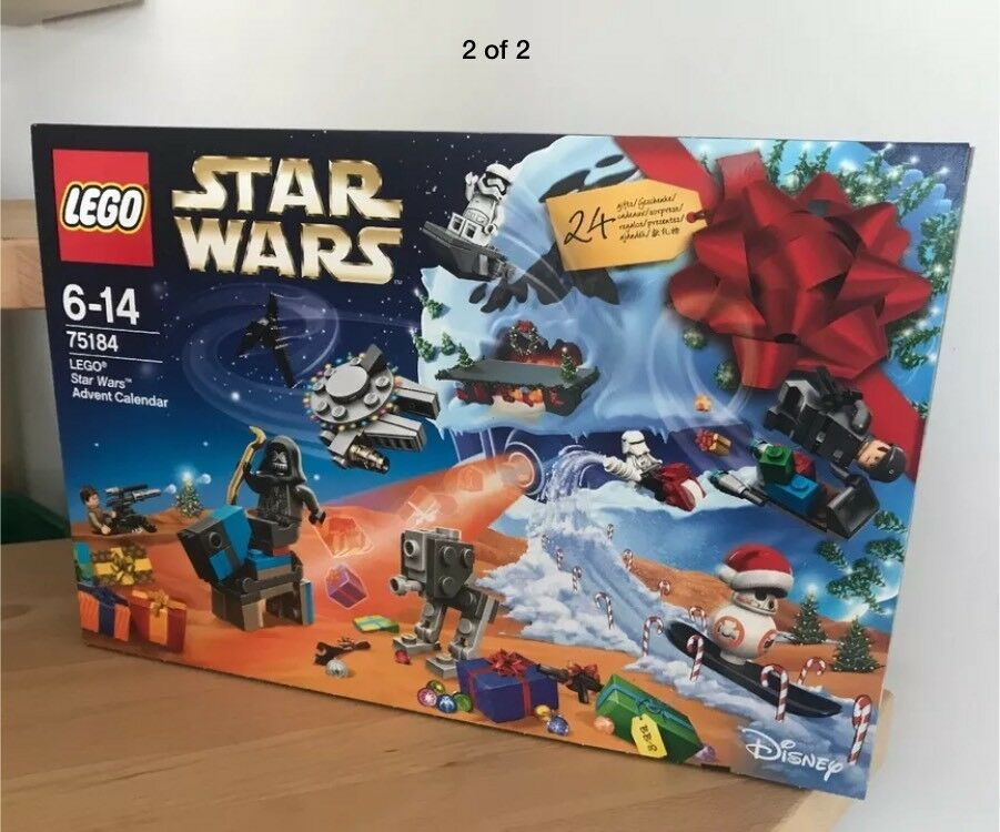 LEGO Star Wars *NEW* Advent Calendar 2017 75184 *Sealed in Box* Brand New