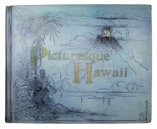 1894 HAWAII Hawaiian Photo History HONOLULU OAHU WAIKIKI SURFING HULA VOLCANO HI