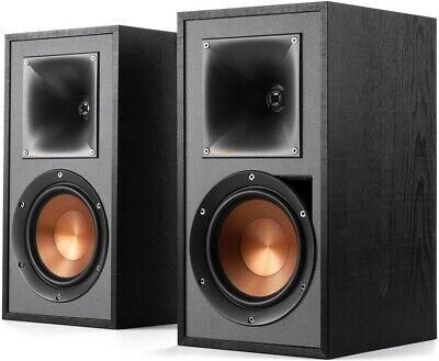 Klipsch R-51PM Speakers - Powered Active Bookshelf Bluetooth Phono Input