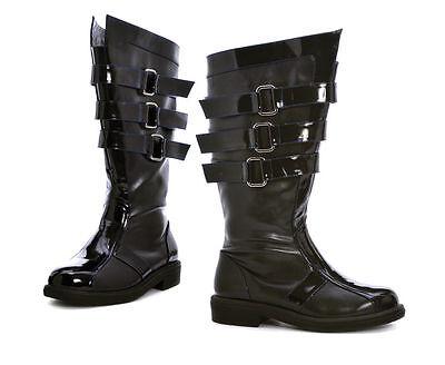 Ellie Schuhe Darth Vader Star Wars Wikinger Herren-Kostüm Stiefel 2.5cm Ferse