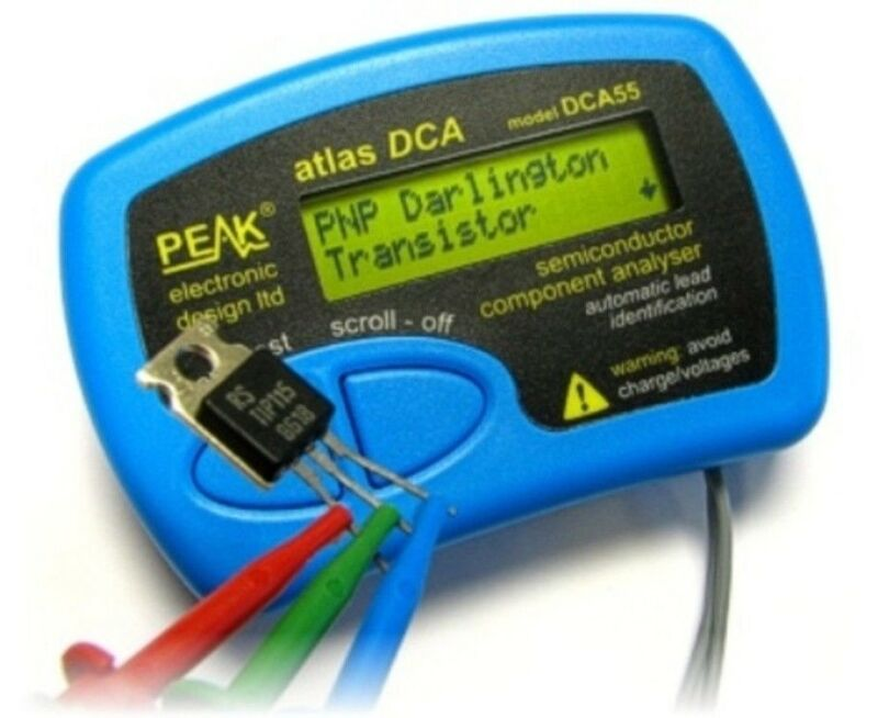 DCA55 Peak Atlas Semiconductor Tester Transistor MOSFET Diode DCA 55 Analyzer