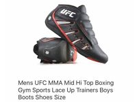 UFC martial arts trainers size 10 brand new and boxed