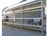Used Longspan Galvanised Racking / Shelving System