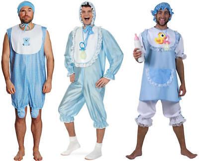 Baby Doll Boy blau Pyjama Junggesellenabschied Karneval Kostüm 44-58