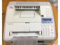 Laser fax machine cannon