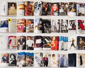 £150 Rare Vintage Vogue Books from LCF. 1980/90s
