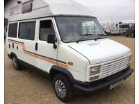 Talbot Autohomes Camelot Motorhome, Campervan, MOT, Low Mileage For Age