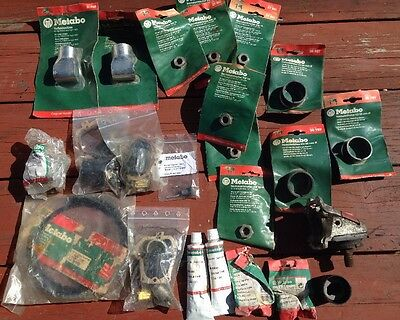 Lot Of Misc Metabo Parts Metabo Grinderspart Never Used In Packaging