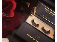LUXURY 3D MINK FUR LASHES. 100%CRUELTYFREE. HANDCRAFTED. YAAHNABEAUTY