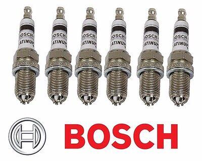 Set of 6 BMW E34 E36 E39 E46 318i 323is 330xi Spark Plug 4417 Bosch Platinum+4