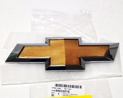 OEM 95032016 Gold Chrome Front Bumper Emblem for Chevrolet Cruze 2011 - 2014