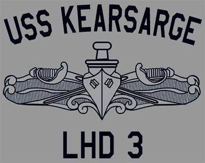 US Navy USS Kearsarge  LHD-3 T-Shirt