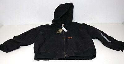 Carhartt Jacke Quilt Flannel Lined Sandstone Active Jacket Black Gr. L Carhartt Sandstone Active Jacket