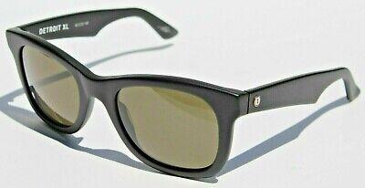 Electric Eyewear (ELECTRIC EYEWEAR Detroit XL Sunglasses Matte Black/Grey NEW Italy )