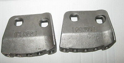 New Lot Of 2 Pengo Heavy Duty Shank Plates Without Teeth Bolts 156323