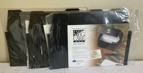 3 NEW Creative Memories NEG CARE BOX Photo Storage Case